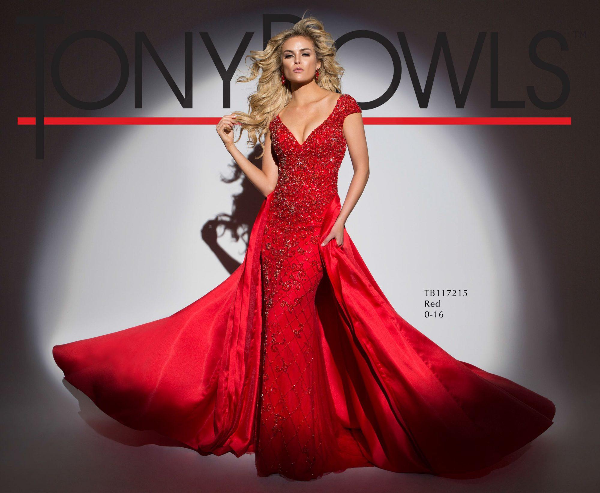 Tony Bowls Red Dresses